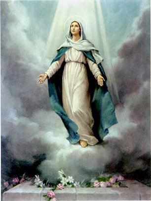 he Assumption of Blessed Virgin Mary