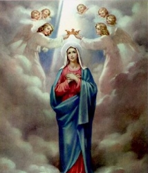 The Coronation of Blessed Mother in Heaven